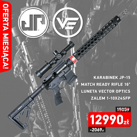 Karabinek JP Enterprises JP-15 Match Ready Rifle 16