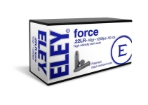 ELEY Force 02400 .22LR HV 42gr 1250fps