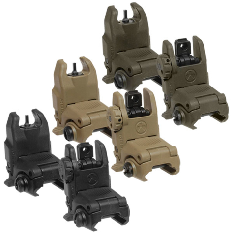 Magpul MBUS II Back-Up Sight – Rear