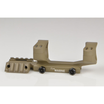 Warne AR15 - 30mm Tactical 1PC Dark Earth