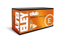 ELEY Club 02100 .22LR 40gr 1085fps
